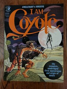 I AM COYOTE 1984 Englehart & Rogers Eclipse Books tpb Graphic Novel