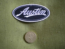 75mm AUSTIN LOGO MOTORING EMBROIDERED PATCH