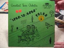 "VINTAGE 33 1/2 RECORD-CONNECTICUT TWINS ORCHESTRA ""JAKA-TO KARA POLKA"""