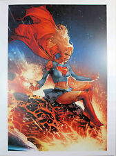 """DCEASED #2 (SUPERGIRL) ART PRINT by Jay Anacleto ~ 12"""" x 16"""" ~ DC Comics"""