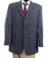 HUGO BOSS Sakko Jacket Einstein Gr.52 grau kariert Einreiher 3-Knopf -S115