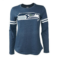 Women's NFL Seattle Seahawks Big Logo Long Sleeve Shirt