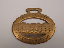 Very Old Rare Cast Horse Brass,, Heavy Nottingham Castle Museum