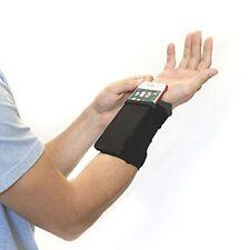 Gym Cycling Running Phone Arm Bag Wristband Badminton Tennis Sweatband Wrist