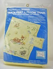 Paragon Walt Disney Bambi Quick Quilt & Pillow Sham Cross Stitch & Quilt Kit