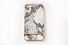 Chic Ladies Plastic Gold iPhone 5/5S/SE Protective Snake Skin Pattern Case(S583)