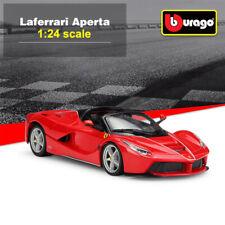 Bburago 1:24 Ferrari Laferrari Aperta Diecast Model Cars Sports Car Collection