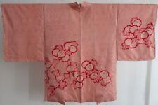 Kimono Shibori Haori Seide Silk Japan Vintage Morgenmantel