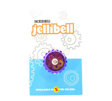 PURPLE MIRRYCLE BICYCLE BIKE JELLIBELL JELLY BELL ROTATING FREE SHIPPING