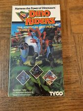 Dino Riders VHS
