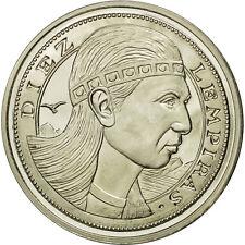 [#550048] Honduras, 10 Lempiras, 1995, Tower, SPL, Copper-nickel, KM:1f.2