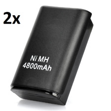 2x 4800mAh Rechargeable Battery Pack for Xbox 360 Wireless Controller