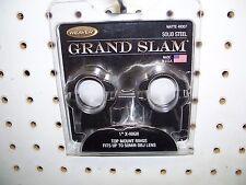 """Weaver 49307 Grand Slam 1"""" X-High Scope Rings Matte Black"""