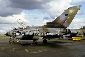 RAF Panavia Tornado GR.1 ZA593/H (1986) Photograph