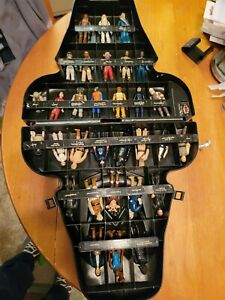 Vintage Star Wars Darth Vader Carry Case w/ 31 Figures Lot