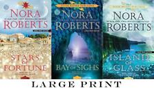 Nora Roberts GUARDIANS TRILOGY Series in LARGE TRADE PAPERBACK Editions Set 1-3