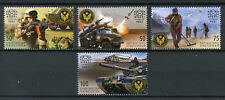 Kyrgyzstan KEP 2017 MNH Armed Forces 25 Yrs 4v Set Army Tanks Military Stamps