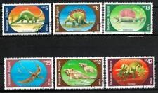 Animaux Préhistoriques Bulgarie (28) série complète 6 timbres oblitérés