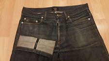 APC Mens Rescue Selvedge Denim Jeans A.P.C. 28  x 34 Thrashed Butler Fades