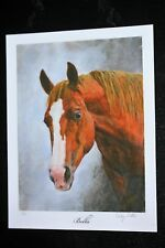 "Horse Head Giclee (entitled ""Bella"") by Cindy Sutter, signed & numbered prints"