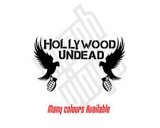 Hollywood Undead vinyl sticker decal car cd logo dove grenade window ipad mac