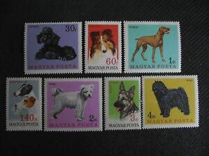 Hungary 1967   Dogs.   MNH set