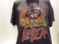 SLAYER (SKULL ARMY) (HEADS ON POLES) T-SHIRT(XL)BLACK- METAL- VERY RARE