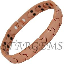 PURE COPPER MAGNETIC BRACELET PAIN RELIEF ARTHRITIS HIGH STRENGTH HEALING BANGLE
