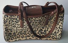 Liz Claiborne 3 compartment shoulder bag handbag