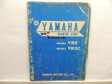 Yamaha Parts List Guide Catalog List Manual YR2 YR2C L12526