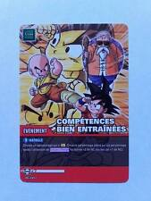 Carte Dragon ball Z Compétences Bien Entraînées DB-1007