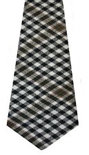 BURNS CHECK TARTAN  PURE WOOL TARTAN TIE Choose From 400 tartans