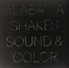 Alabama Shakes Sound & and Color 2x Clear Vinyl LP Etched 2015 Indies Only