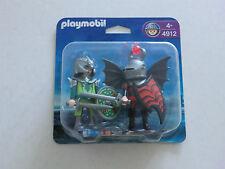 PLAYMOBIL 4912 Duo-pack Drachenritterduell Neu/ovp