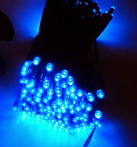 200 LED 20.9M BLUE SOLAR CHRISTMAS WEDDING PARTY FAIRY STRING LIGHTS