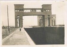 KEMBS sur le RHIN Centrale Hydroélectrique Écluse navigation Photo ALBIETZ 1932