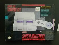 Super Nintendo Entertainment System Launch Edition White Console (NTSC) Boxed