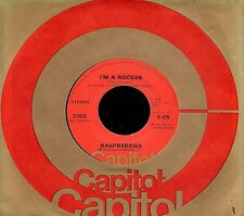 "RASPBERRIES ""I'M A ROCKER/Money Down"" CAPITOL 3765 (1973) 45rpm     ERIC CARMEN"