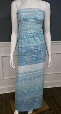 Lane Bryant Dress Size 26 28 tube multicolor turquoise white striped Sislou G6