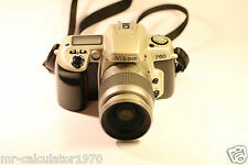 Nikon F60 35mm SLR Pellicola VIDEOCAMERA + Nikon AF 28-80mm LENS 1:3.3 -5.6 G