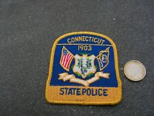 PATCH POLICE ECUSSON COLLECTION  USA   police connecticut