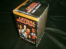 VHS *LETHAL WEAPON 1 2 3 4 Directors Cut Issues* 2000 Warner Home Video Box Set!