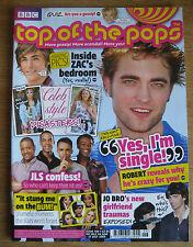 Twilight ~Top Of The Pops 2009 ~ Robert Pattinson JLS Zac Efron Magazine ~ New
