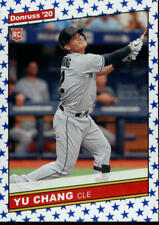 2020 Donruss Retro 1986 Variations Independence Day #259 Yu Chang Rookie Indians
