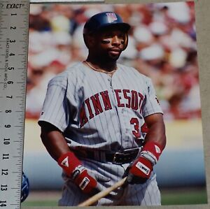 Kirby Puckett 11x14 Custom Color Photo from Original Negative Minnesota Twins