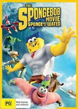 The Spongebob Movie - Sponge Out Of Water (DVD, 2015) NEW R4