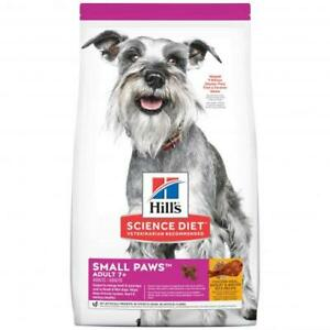 Hill's Science Diet Small Paws Senior Dry Dog Food 1.5kg