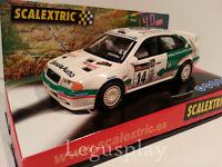"Slot SCX Scalextric 6124 Skoda Octavia WRC ""K.Eriksson""  Nº14"