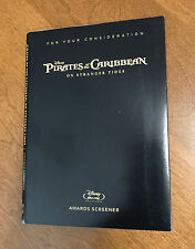 Pirates of the Caribbean On Stranger Tides ~ Disney FYC Awards Screener Blu-ray