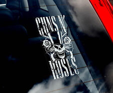 Guns'N'Roses - Car Window Sticker - Axl Rose Rock Music Sign Art Gift